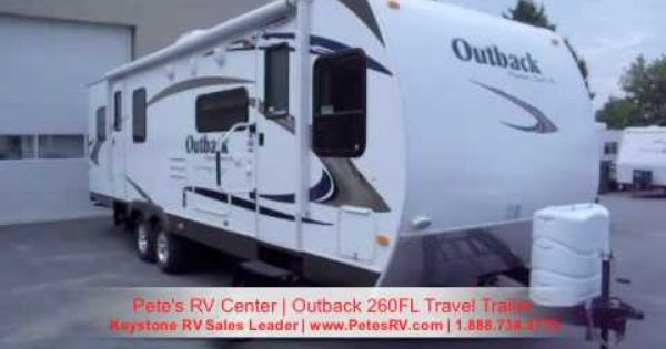 The Outback 260fl Offers A Unique Front Living Room Floorplan