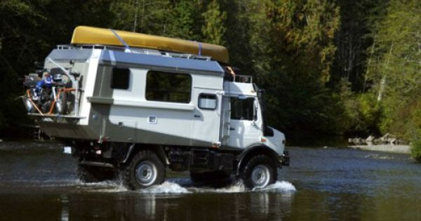 Unimog Expedition Camper Well Designed And Equipped Over Drive