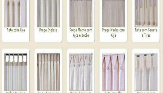 Tipos de cortinas modernas e aconchegantes limpia - Tipos de cortinas modernas ...