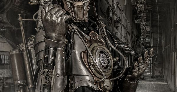 I create steampunk artwork clothing gadgets and props for photoshoots and filming its my - Spare time gadgets ...
