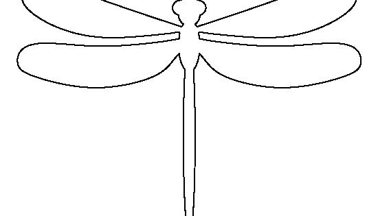 Peaceful image pertaining to dragonfly template printable