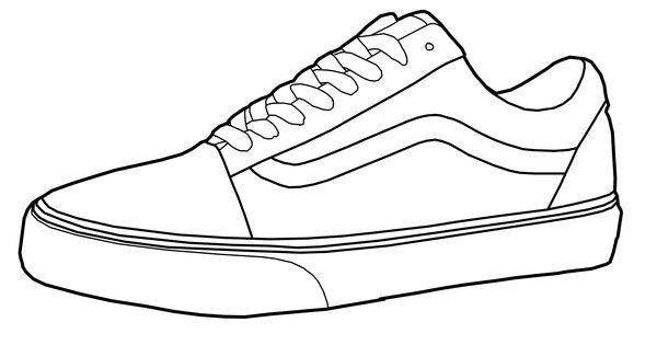 It's just a graphic of Selective vans coloring page