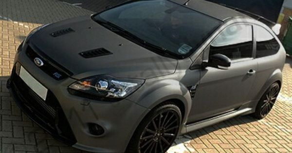 Ford Focus Rs Mk2 Wrapped Grey Tuttleclickford Com Ford Focus