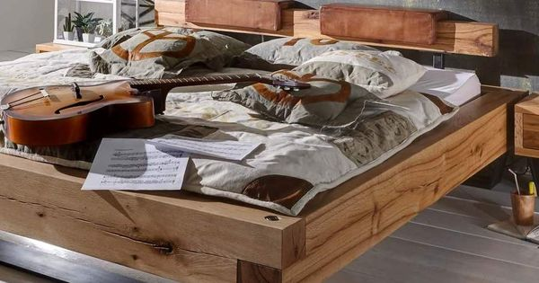 Bett aus Eiche Balken Heavy Sleep Pickupmöbel.de | B | Pinterest ...