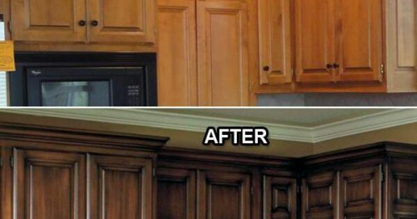 ... Faux or Not to Faux: Which is Better? | Stains, The cab and Cabinets