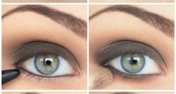 Eye makeup for green eye. Beautiful Younique mineral eyeshadow makeup. Order yours