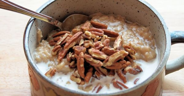 Butter pecan, Pecans and Oatmeal on Pinterest
