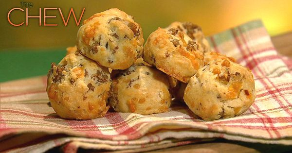 Savory Sausage and Cheese Puffs