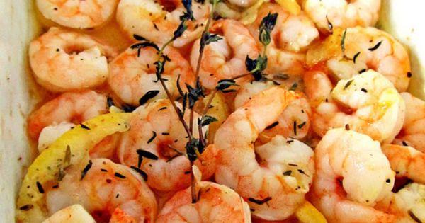Roasted Garlic Herb Shrimp 1/3 cup olive oil 1 lemon, zested then
