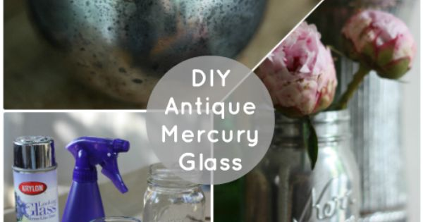 DIY Mercury Glass. Use on glass Christmas ornaments, candle holders, etc. (17