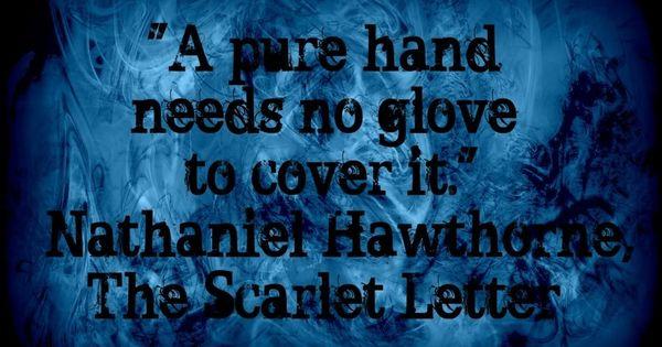 Natheniel Hawthorne View On Evil Scarlet Letter