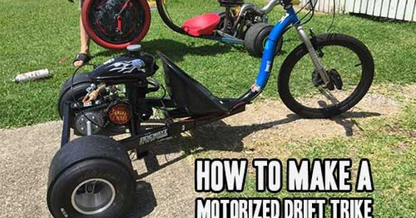 How To Make A Motorized Drift Trike Prepared