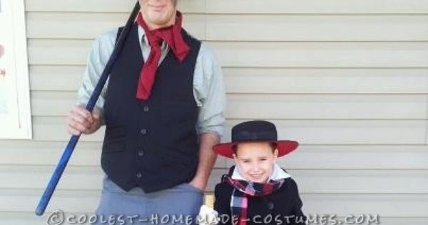 Sweetest Homemade Daughter And Father Mary Poppins Costume