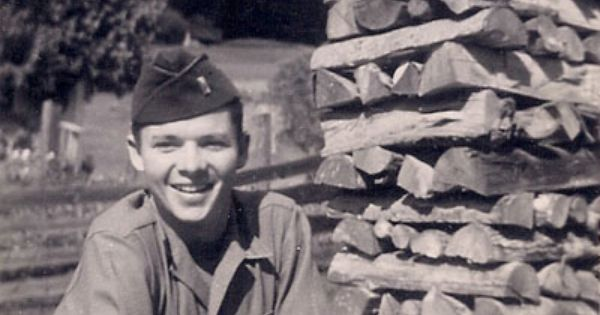 Rare Photo Of Audie Murphy Somewhere In Germany During
