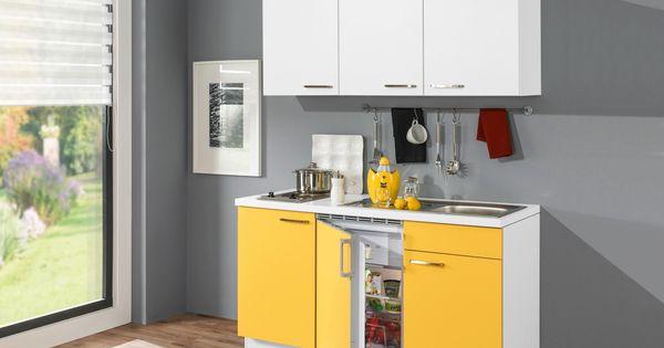 Farbenfrohe Küche von XORA modern \ kompakt Küchenblöcke - küchen ohne elektrogeräte