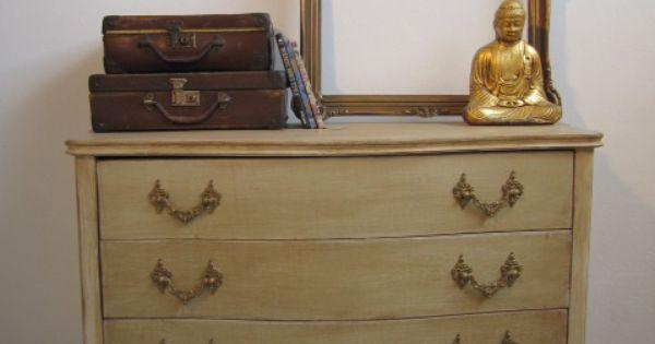 C moda patinada muebles restaurados pinterest - Como patinar un mueble ...