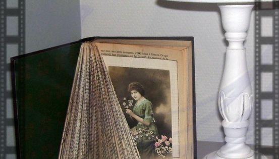 pliage de livres origami vieux livres pinterest livres. Black Bedroom Furniture Sets. Home Design Ideas