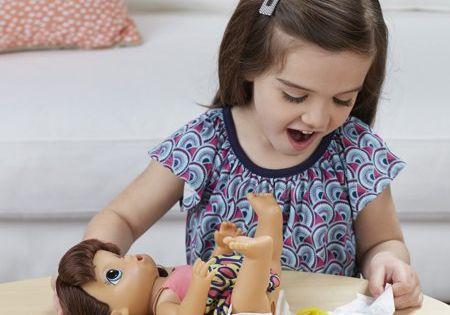Baby Alive Super Snacks Snackin Noodles Brunette Walmart Com Baby Alive Super Snacks Baby Dolls