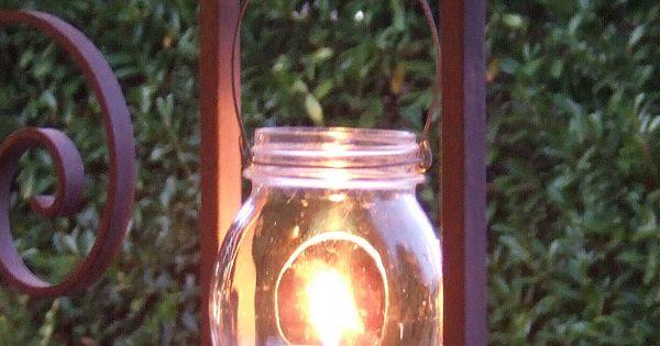 How to make hanging jar lanterns this is so simple i am - Make hanging lanterns ...
