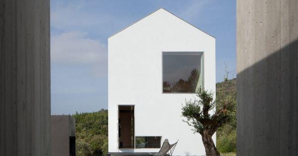Fonte Boa House par João Mendes Ribeiro Boas, Architecture and House - exemple de facade de maison