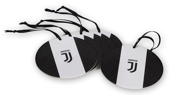 Juventus 6 Black And White Coasters Set Christmas Decorations Juventus Official Online Store White Coasters Christmas Decorations Coaster Set