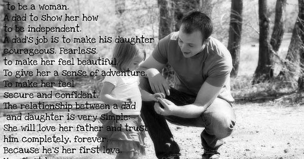 Daddy daughter love
