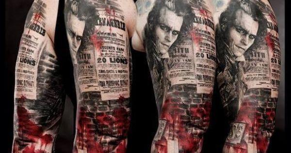 Sweeney todd wietny r kaw pomys na tatua tattoo for Sweeney todd tattoo