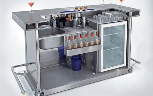 Portable bars are ideal for small spaces home bar and - Bars for small spaces ...