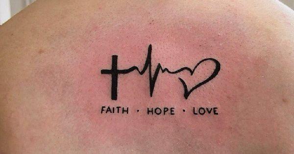 Fe Esperanza Y Amor Tatuaje Significado