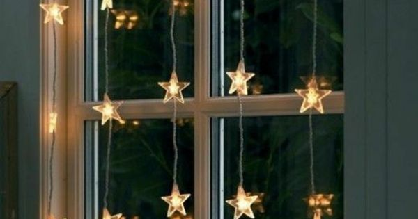 weihnachtsbeleuchtung und led lichterketten f r innen winter weihnachts welt pinterest. Black Bedroom Furniture Sets. Home Design Ideas