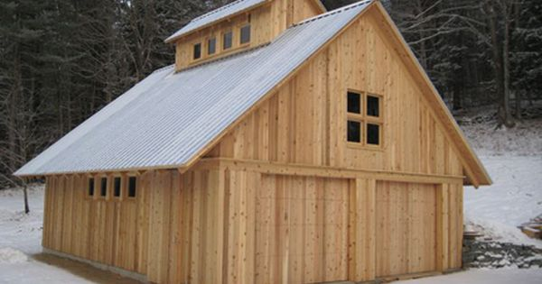 Small barn style home plans small barn designs design for Hobby barn plans