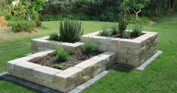 beet mit steinen baukastensysteme nowaday garden best garten ideen garten design. Black Bedroom Furniture Sets. Home Design Ideas