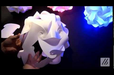 How to make an iq lamp jigsaw lamp from scratch diy for How to make a lampshade from scratch
