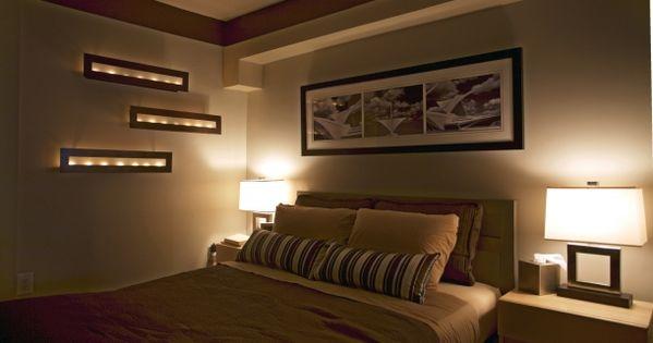 Iluminacion dormitorios matrimonio moderno decoraci n - Iluminacion dormitorio ...