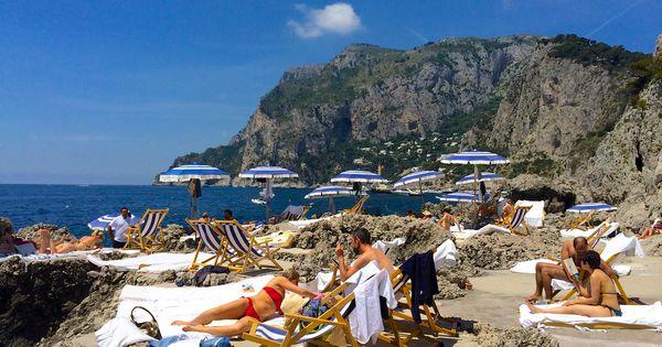 La Fontelina Beach Club Capri Italy Been There Done