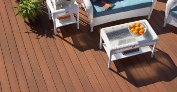 Veranda Armorguard 0 93 In X 5 25 In X 8 Ft Grooved Edge Capped Composite Decking Board In Coastal Cedar Brd Composite Decking Composite Decking Boards Home