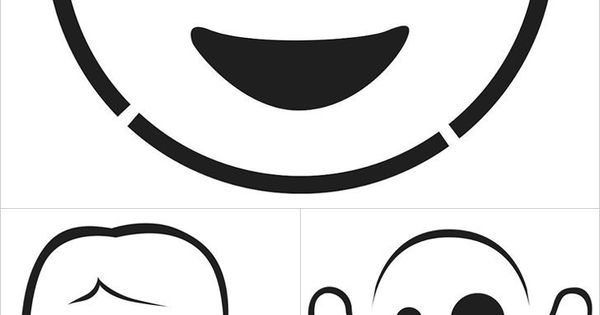 Here are the emoji pumpkin templates of your dreams pumpkin template emoji and technology gadgets for Emoji pumpkin carving stencils