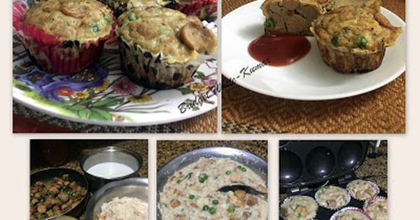 Savoury Bread Pudding Cups Savory Bread Puddings Bread Pudding