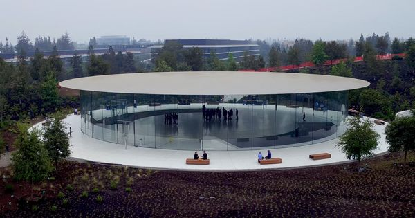 Steve Jobs Theater At Apple Park By Foster Partners Apple Park