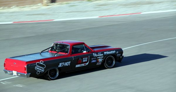 Mike Holleman S 1965 Chevy El Camino At The 2013 Ousci