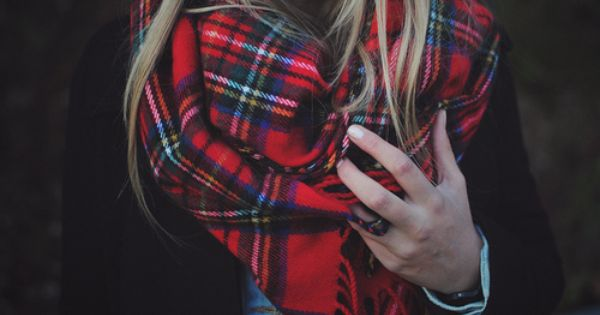 #PlaidScarf - perfect for Christmas wear :)