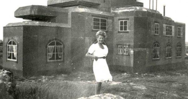 Bunker de camouflage bunker allemand la baule france for Acheter une maison a la baule
