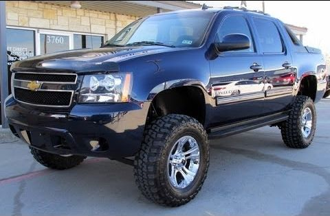 2011 Chevy Avalanche Ls 4wd Rough Country Lifted Truck Lifted