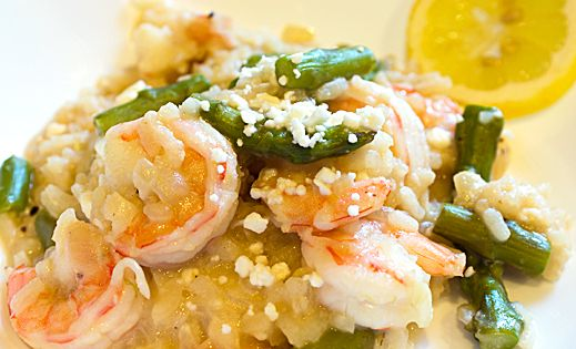 Shrimp and Asparagus Risotto | seafood I wish I could make | Pinterest ...