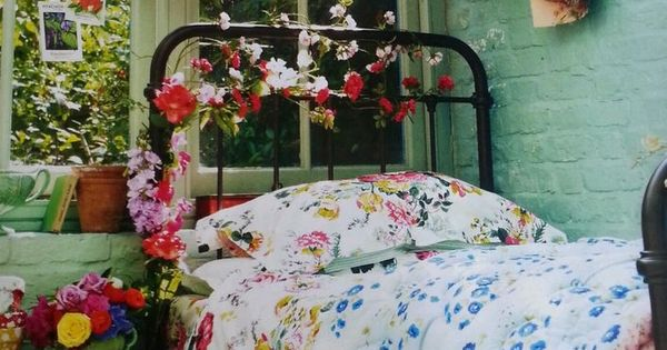 NEW JOULES RUBY DOUBLE DUVET COVER FLORAL VINTAGE STYLE 100% COTTON FABRIC