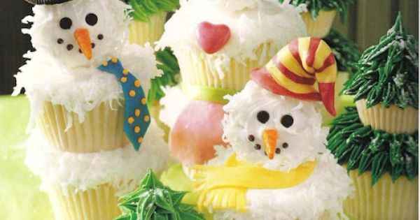 Lots of Christmas Cupcake Recipes!