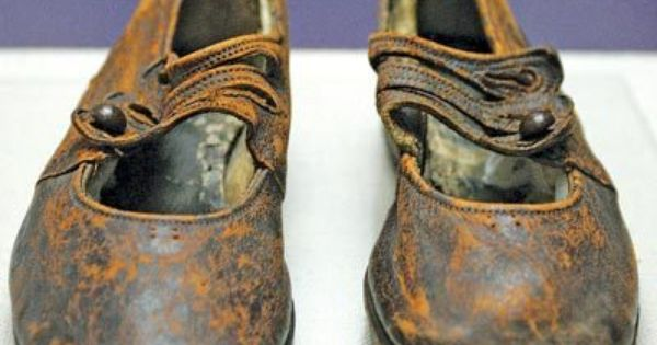These shoes belonged to the 2 year old Titanic Victim, who was
