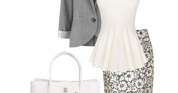 A fashion look featuring Alexander McQueen blouses, People Tree blazers and Burberry