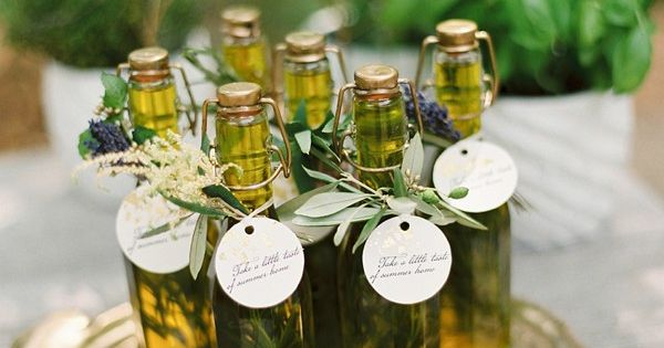 Modern Wedding Bonbonniere Ideas : Mediterranean wedding inspiration glasses and