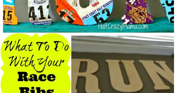 Cool idea of what to do with your race bibs